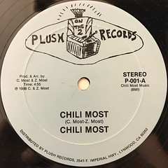 CHILI MOST:CHILI MOST(LABEL SIDE-A)