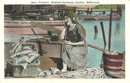 Mary Pickford, Pickford Fairbanks Studios, Hollywood