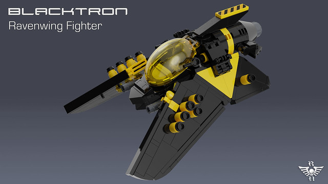 LEGO Blacktron Ravenwing Fighter