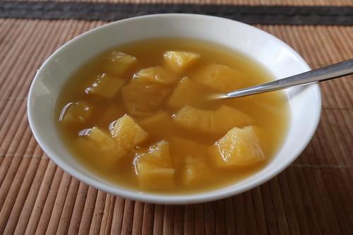 Ananas aus dem Glas (von Alnatura)