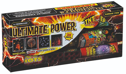 Ultimate Power Barrage Box by TNT Fireworks