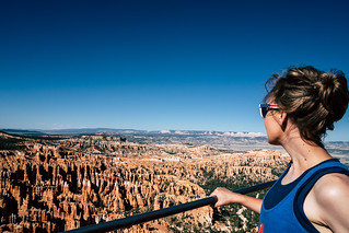 Looking out at Bryce Canyon National Park