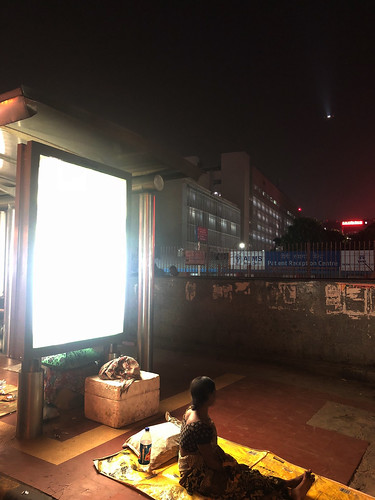 City Hangout - Night Time Bus Shelters, Around Town