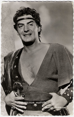 Victor Mature in Samson and Delilah (1949)