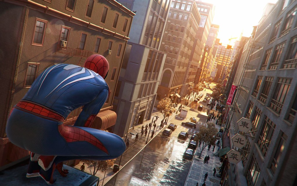 insomniac interview the tech behind marvel s spider man