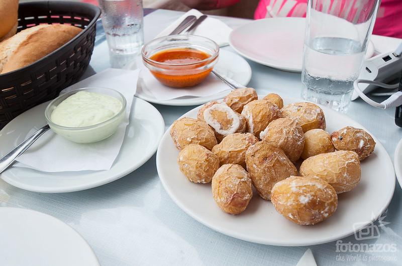 Restaurante El Dorado del Norte en el Puertillo