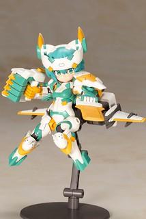 格鬥型態登場!『Frame Arms Girl 骨裝機娘』x『Desktop Army』合作第二彈 B-101s 希爾菲 [STRIKER](シルフィー [ストライカー])