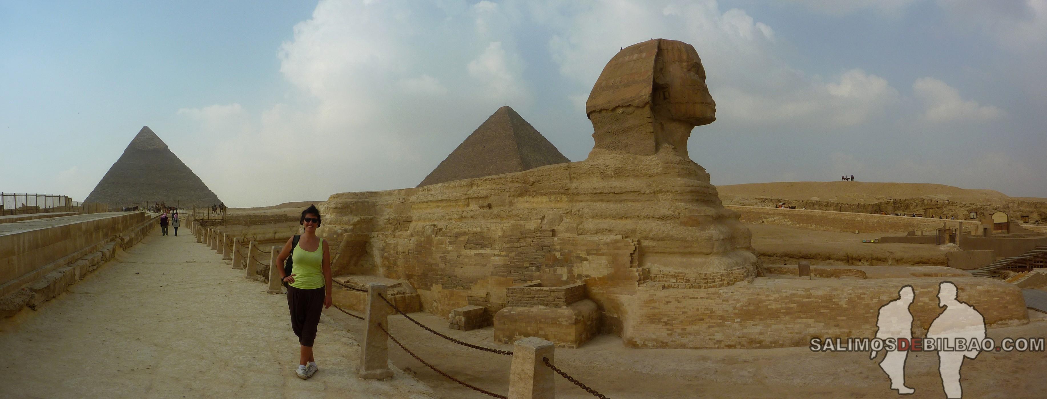 0175. Saioa, Pano, Pirámides de Giza y Esfinge