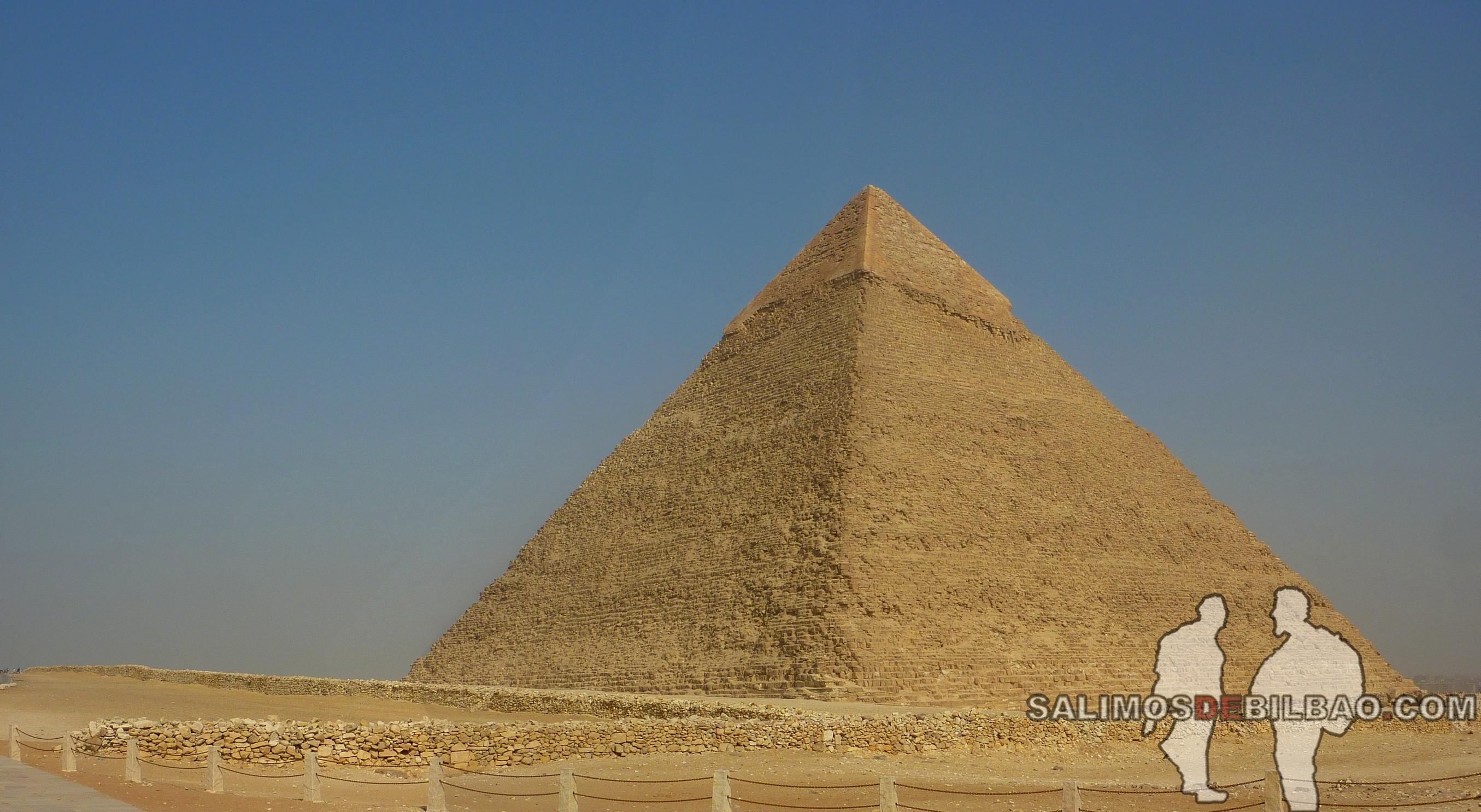 0138. Pano, Pirámide de Kefren