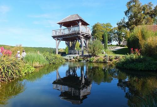 Jardins du château de Bannes