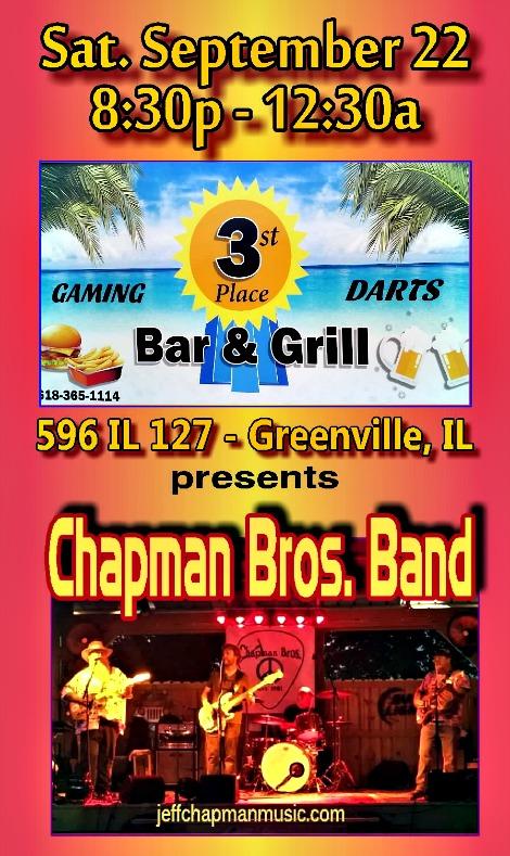 Chapman Bros 9-22-18