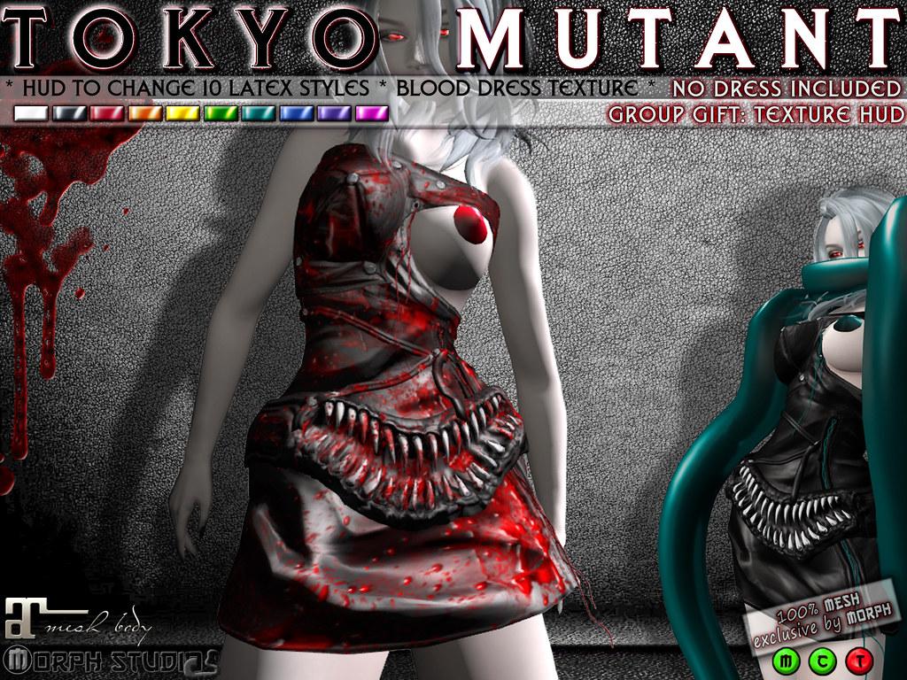 0o Morph Tokyo Mutant GROUP GIFT (texture ADDON) - TeleportHub.com Live!