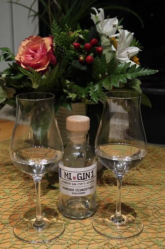 Letzte Gläser vom Gin Typ T (aus dem Mindener Feinkosthaus)