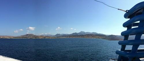 Approaching Naxos aboard M. V. Skopelitis