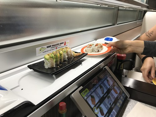 Point Sushi bullet train