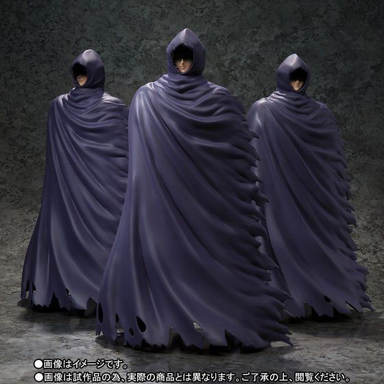 聖闘士聖衣神話EX 《聖闘士星矢 冥王黑帝斯十二宮篇》「謎之冥衣」3體共同販售! 謎の冥衣 3体セット