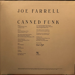 JOE FARRELL:CANNED FUNK(JACKET D)