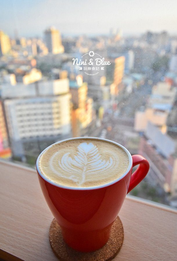 凱度 高空咖啡 台中夜景咖啡13