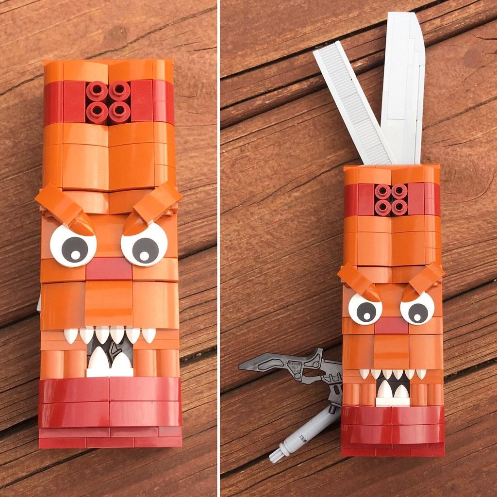 MOC: Tiki Swiss Army Knife