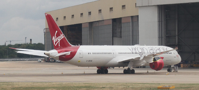 G-VBOW Virgin Atlantic Airways Boeing 787-9 Dreamliner