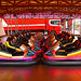 Dodgems at rest