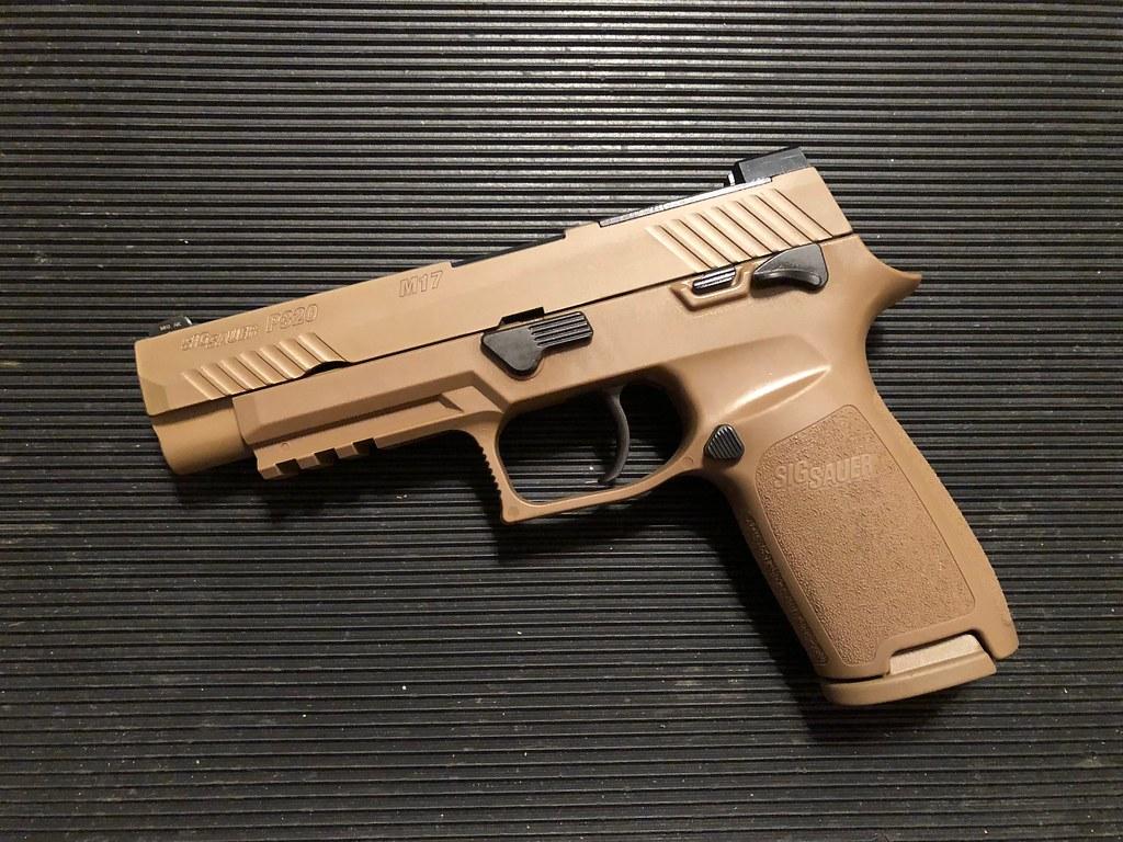 My new M17 - AR15 COM