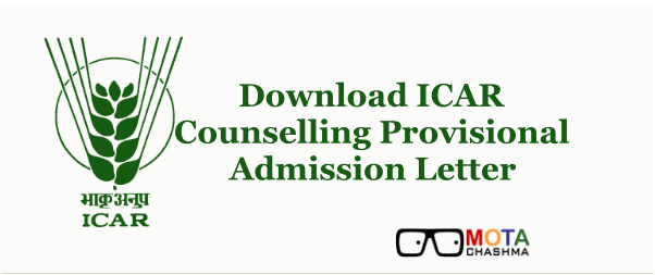 ICAR Counselling 2019