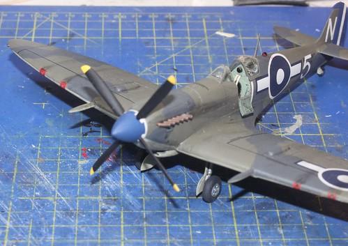 Supermarine Seafire Mk.IIIc., Airfix (konvertering), 1/48 44661628242_2f03dd79d1