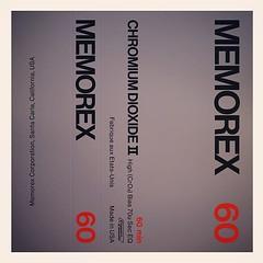 Cassettes: Memorex C60