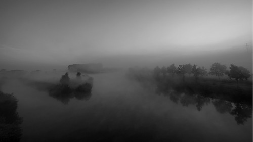 Misty Island Black&White