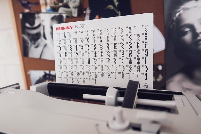 review Bernina B380 обзор швейной машины 2