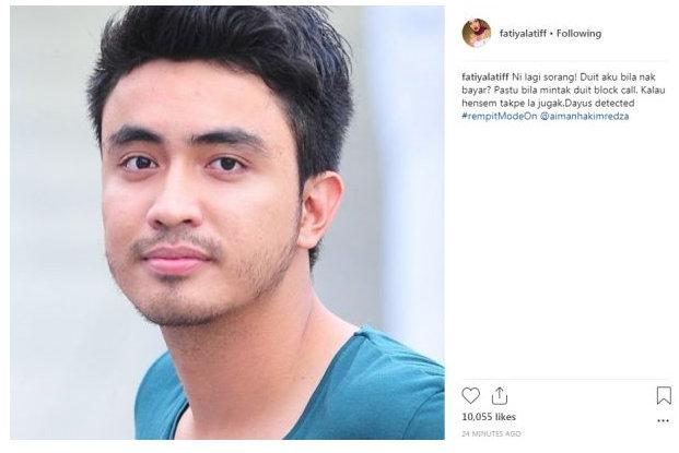 Fathia Cetus Kontroversi, Tuduh Aiman Dayus Block Call Lepas Tuntut Hutang