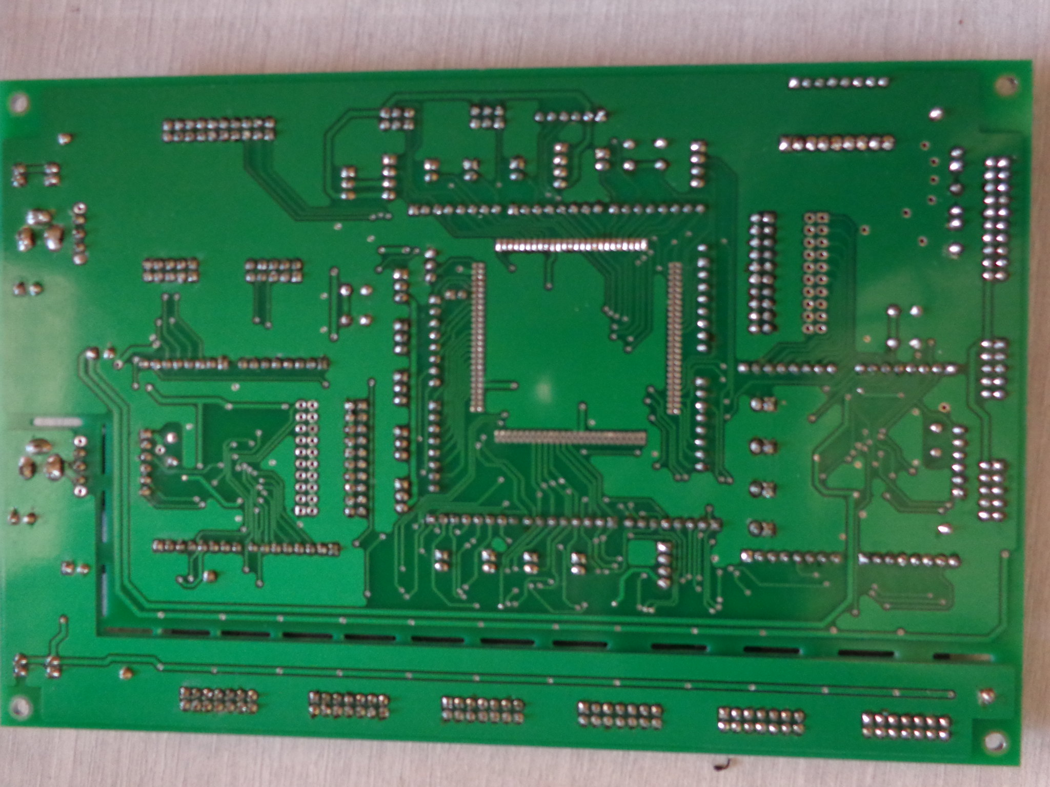 Motherboard with three ATMEL micro-controllers