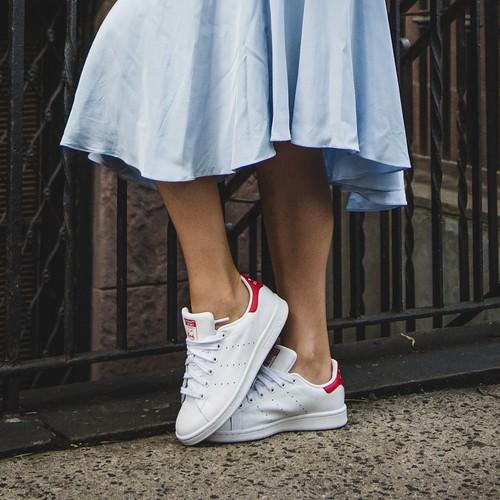 zapatos blancos otoño 2018