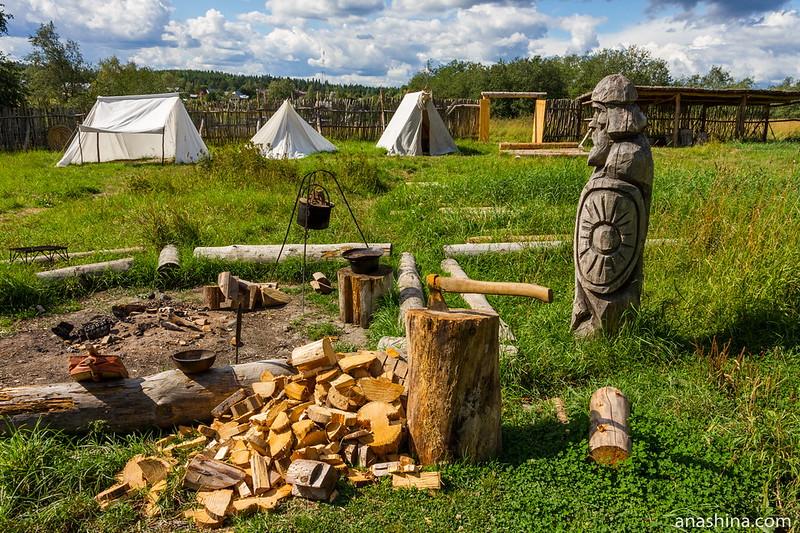 Музей живой истории эпохи викингов Бьоркагард, Берёзово