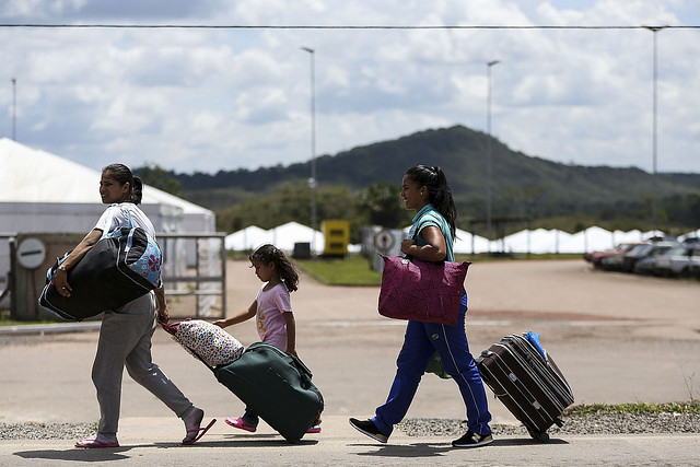 More than 1,000 Venezuelans left Brazil after attacks from Pacaraima residents - Créditos: Marcelo Camargo/Ag Brasil