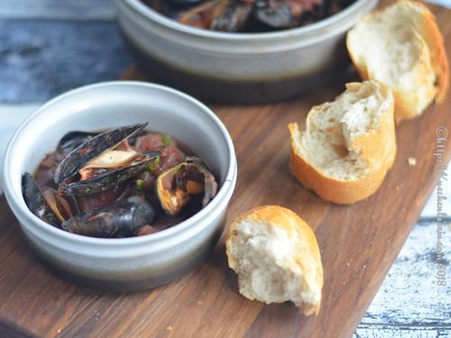 Muscheln in Tomaten-Fenchelsauce (2)