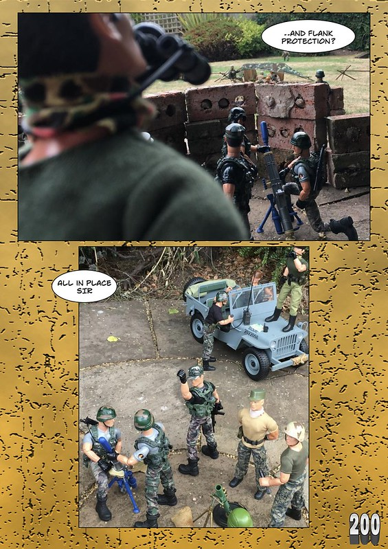 BAM2272 Presents - An Old Face Returns! Chapter Thirteen - The Munrovians Prepare their defences - Part One  29432143107_682453837b_c