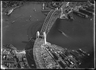 Opening of the Sydney Harbour Bridge, from the northern side, 1932, Milton Kent