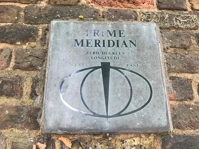 Prime Meridian at Ranger's House