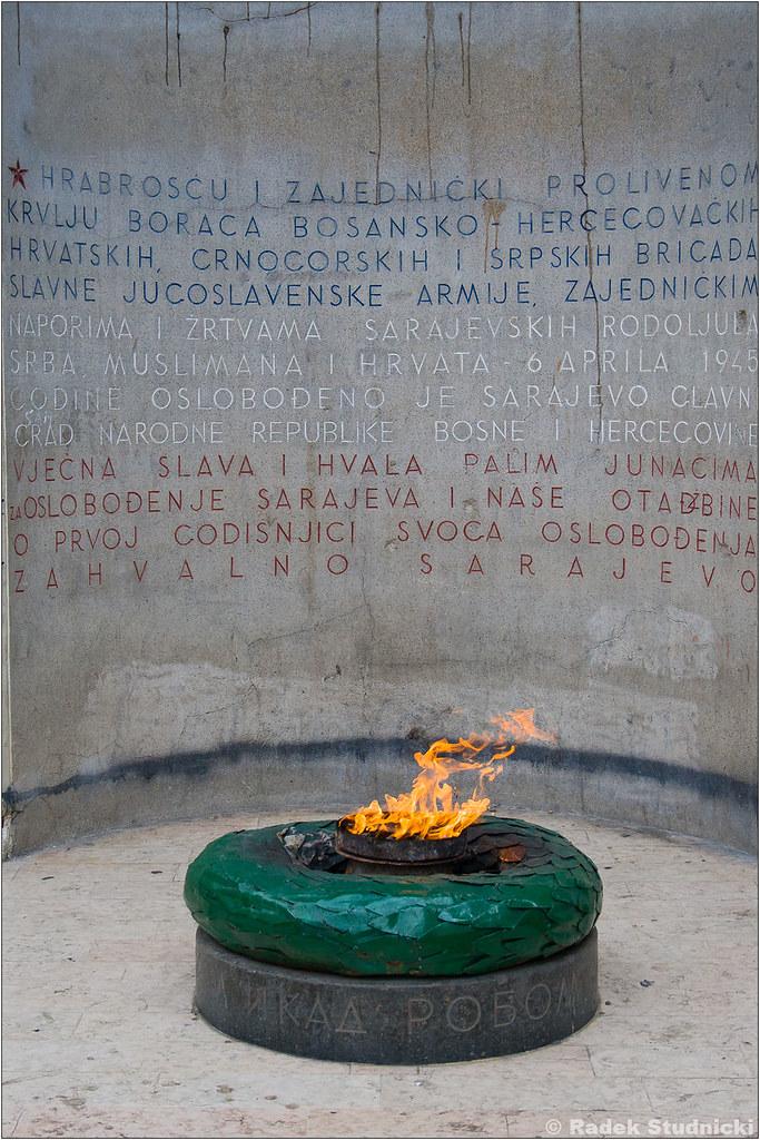 Wieczny ogień w Sarajewie