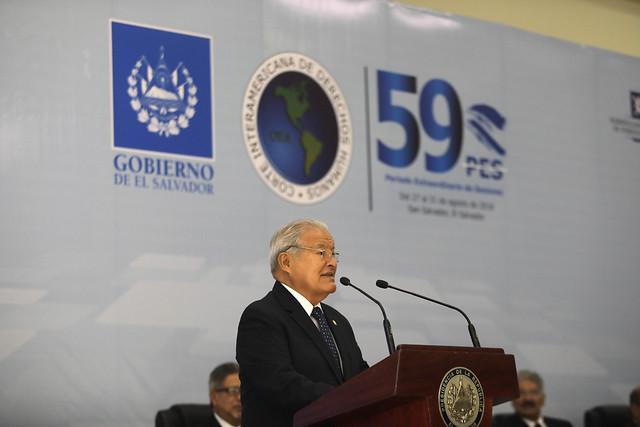 Inauguración del 59 Período Extraordinario de Sesiones de la Corte Interamericana de Derechos Humanos.