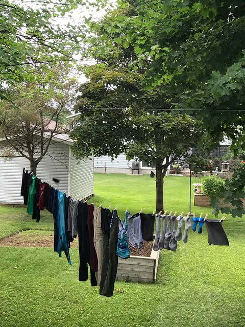 Carleton Place - laundry on line