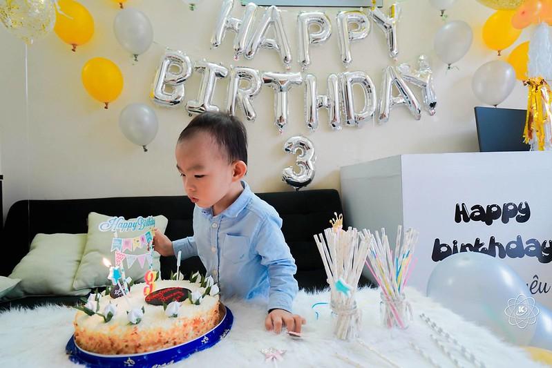 Chụp tiệc sinh nhật cho bé trai Bunny tròn 3 tuổi
