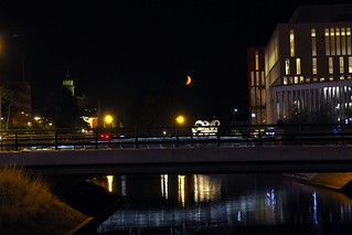 Night in Malmo, Sweden