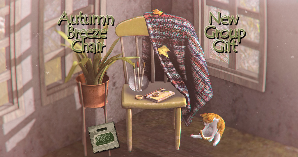 crate Autumn Breeze Chair New Group Gift! - TeleportHub.com Live!