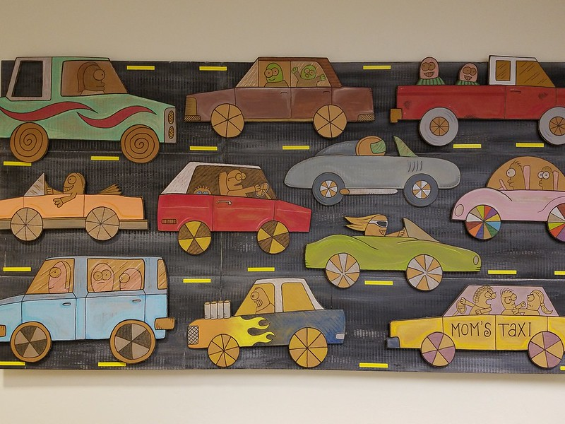 Cars, by David Kish, 2014