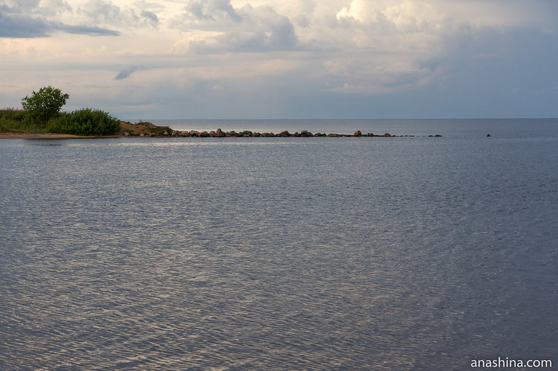 Волнорез, Ладожское озеро