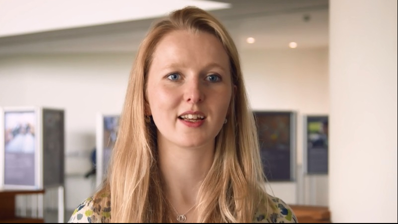 Caroline Hughes talks about how she has benefited from public engagement