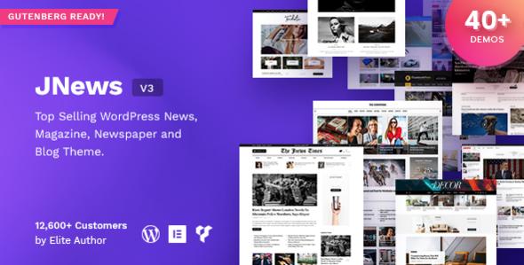 JNews v3.1.2 – WordPress Newspaper Magazine Blog AMP Theme